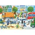 Puzzle 60 dílků - Rušná ulice 6700