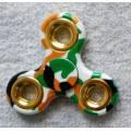 Fidget Spinner 3 ramena BÍLÝ MASKÁČ