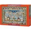 Puzzle 2000 dílků - Mapa světa 200733