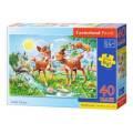 Puzzle MAXI 40 dílků - Koloušci 40094