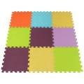 Pěnové puzzle BEZ MOTIVU 9ks 30x30cm
