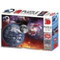 Puzzle 3D efekt - Vesmír 500 dílků