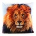 Polštářek s potiskem 33x33cm lev