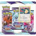 Pokémon TCG: Sword and Shield - Chilling Reign 3 Pack Blister - Snorlax