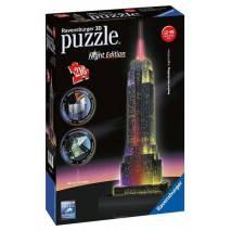 Ravensburger 3D puzzle - Empire State Building noční edice