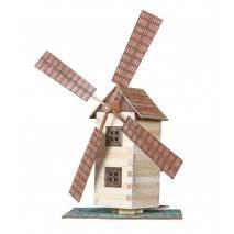 Walachia Větrný mlýn - dřevěná stavebnice