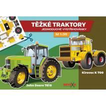 Vystřihovánka - Těžké traktory