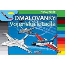Didaktické omalovánky - Vojenská letadla