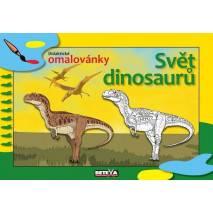 Didaktické omalovánky - Svět dinosaurů