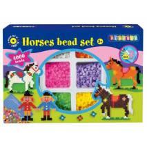 Playbox Zažehlovací korálky 4000ks - Koně s jezdci