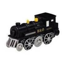 Maxim Elektrická lokomotiva černá parní