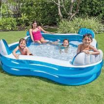 INTEX Rodinný relaxační bazén čtverec 229x229x66cm 56475