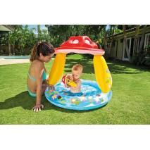 INTEX Nafukovací bazén Muchomůrka se stříškou 57114