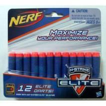Hasbro NERF - N-STRIKE ELITE - náhradní šipky 12ks