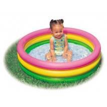 INTEX Dětský bazén 3-kruhový 86x25cm 58924