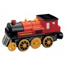 Maxim Elektrická lokomotiva červená parní