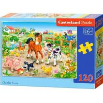 Puzzle 120 dílků - Na farmě 13197