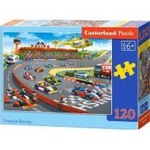 Puzzle 120 dílků - Závod formulí 13470
