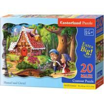 Puzzle maxi 20 dílků - Jeníček a Mařenka 2368