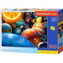 Puzzle 300 dílků - Planetky 30262