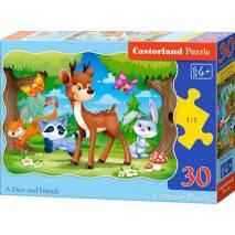 Puzzle 30 dílků - Koloušek a jeho přátelé 3570