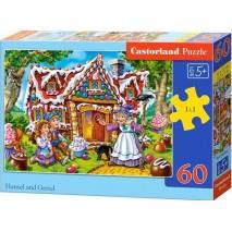 Puzzle 60 dílků - Perníková chaloupka 66094
