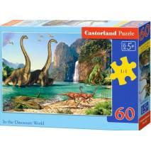 Puzzle 60 dílků - Dinosauří svět 6922