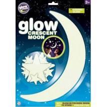 GlowStars Glow Velký Měsíc a hvězdy