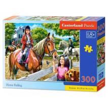 Puzzle 300 dílků - Jezdecký kurz 30095
