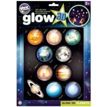 GlowStars Glow 3D Planetky