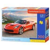 Puzzle 300 dílků - Červený Chevrolet Corvette kabriolet 30057