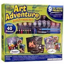 Art Adventure - velká sada tvoření - zelená