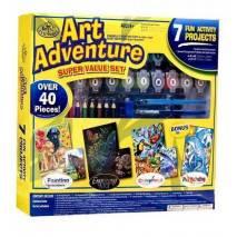 Art Adventure - velká sada tvoření - žlutá