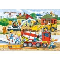 Puzzle MAXI 40 dílků - Stavba 40018