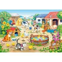 Puzzle 60 dílků - Farma 6663