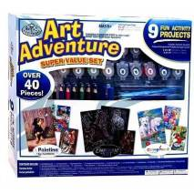 Art Adventure - velká sada tvoření - bílá