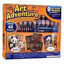 Art Adventure - velká sada tvoření - oranžová