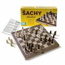 Albi Šachy dřevěné stolní