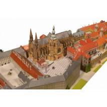 Vystřihovánka - Pražský Hrad