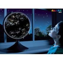 2v1 Globus a hvězdná obloha