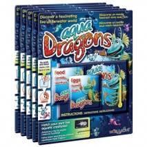 Aqua Dragons - Vodní dráčci - náhradní sada vajíček a krmení