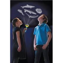 Ruční projektor - ryby