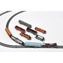 Velká vlaková souprava Rail King