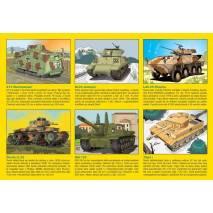 Didaktické omalovánky - Tanky
