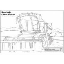 Didaktické omalovánky - Zemědělské stroje