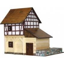 Walachia Hrázděný mlýn - dřevěná stavebnice