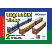 Vystřihovánka - Regionální vlaky