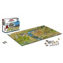 ConQuest 4D Cityscape puzzle Time Panorama PRAHA