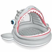 INTEX Nafukovací bazén Žralok se stříškou 57120