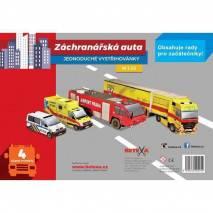 Vystřihovánka - Záchranářská auta